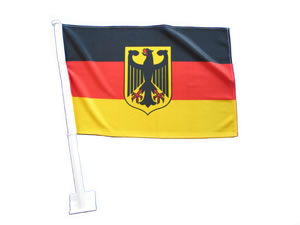 Carflag Germany with eagle
