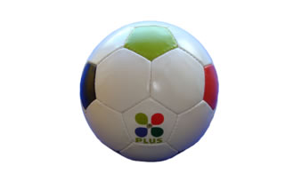 Bunter Fu�ball